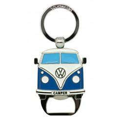 Porte clé décapsuleur Combi Split bleu