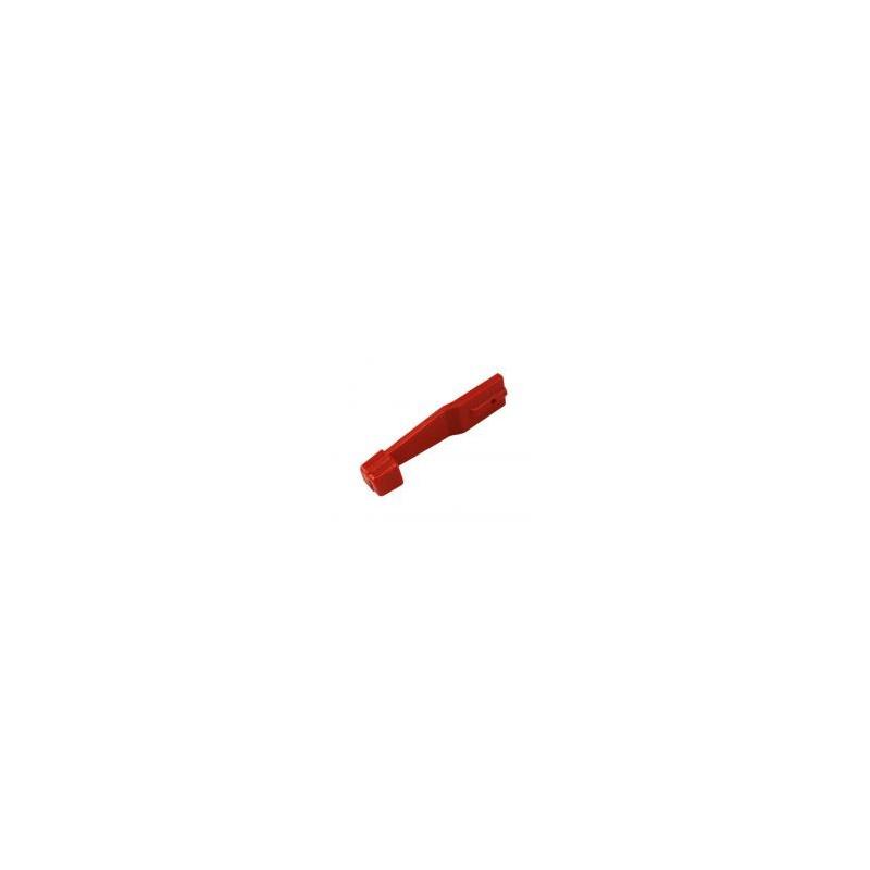 Manette de chauffage rouge Baywindow