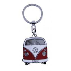 Portes-clés avec design de la légendaire VW Combi T1 rouge