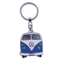 Portes-clés avec design de la légendaire VW Combi T1 bleu