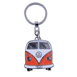 Portes-clés avec design de la légendaire VW Combi T1 orange
