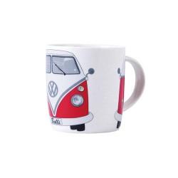 Mug en porcelaine tendre avec Combi split en rouge 400 ml