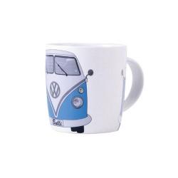 Mug en porcelaine tendre avec Combi split en bleu 400 ml