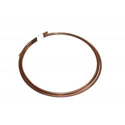 Tuyau essence cuivre diamètre 6 mm longueur 2,5 mètres