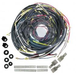 Circuit electrique origine cabriolet 1962 à 1964