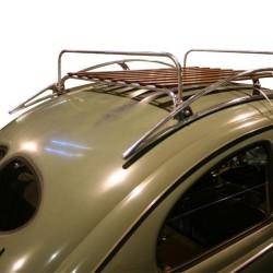 Galerie de toit Airstreme Coccinelle Flat4 avec barre retenue de bagages