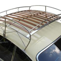 Galerie de toit volkswagen Karmann-Ghia inox
