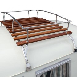 Galerie de toit 2 arceaux Combi Inox