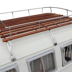 Galerie de toit 3 arceaux Combi Inox