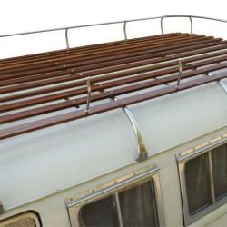 Galerie de toit 4 arceaux Combi Inox