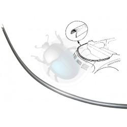 Profil acier pour câble de capote arrière de coccinelle cabriolet