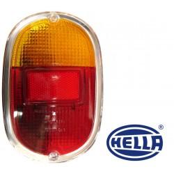 Verre feu arrière utilitaire volkswagen Combi de 1961 à 1972 rouge orange chrome Hella