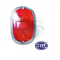 Verre feu arrière utilitaire volkswagen Combi de 1961 à 1972 rouge rouge chrome Hella