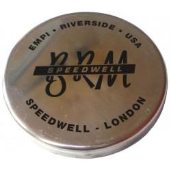 Cache moyeu aluminium anglais pour BRM applicable sur Jante FLAT 4