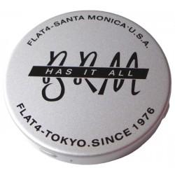 Cache moyeu aluminium pour BRM FLAT 4 applicable sur Jante anglaise