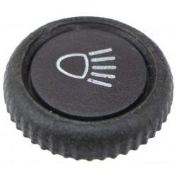 bouton d'interrupteur de phares avec sa pastille à partir de 1968