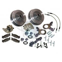 Kit frein à disques avant 5x205 de 1965 à 1967 Complet avec maitre cylindre