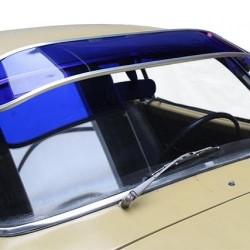 Pare-soleil bleu plexi Karmann-Ghia