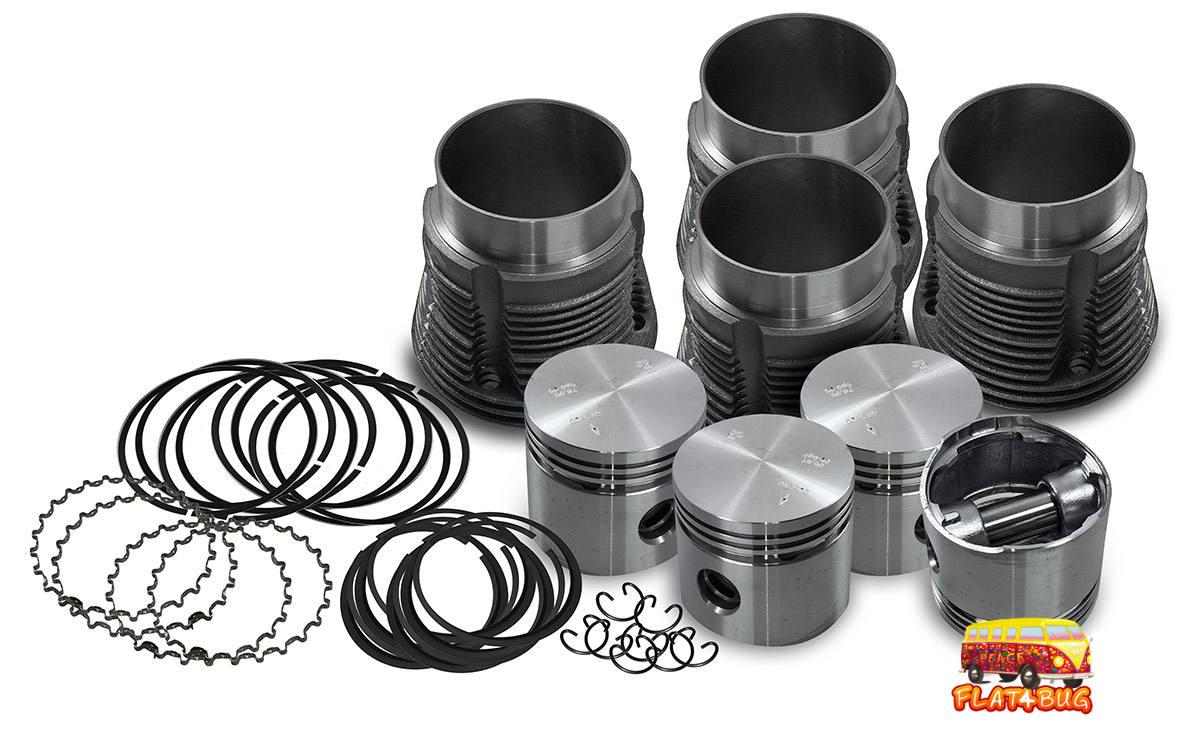 Kit piston et cylindre 30 chevaux de marque Mahle fabriqué au Brésil