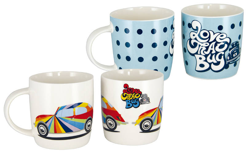 "Mug en porcelaine tendre comme la collection ""Love that bug"""