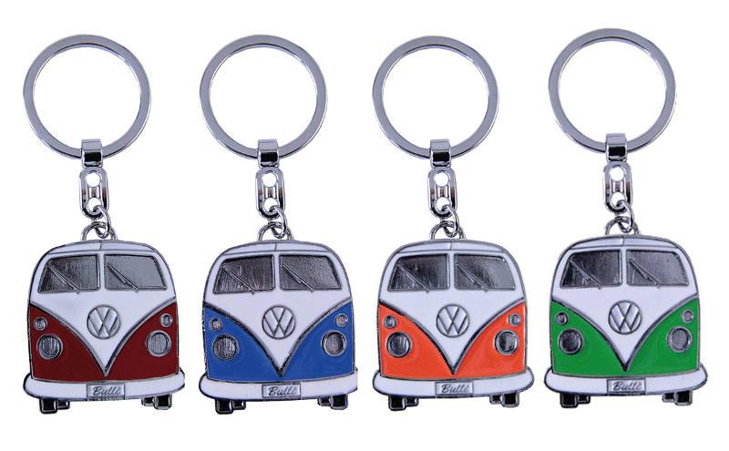 Portes-clés avec design de la légendaire VW Combi T1