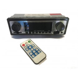 Autoradio style vintage MP3 Bluetooth