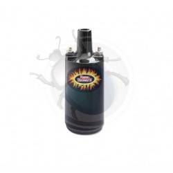 Bobine pertronix noire epoxy 0,6 Ohm 45000 Volts isolation époxy